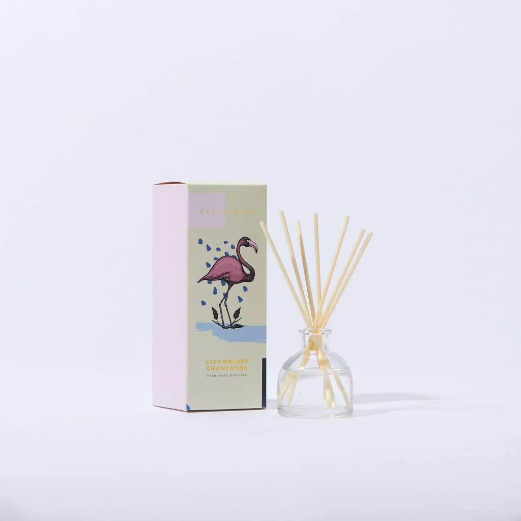 Celia Loves Strawberry Champagne Diffuser