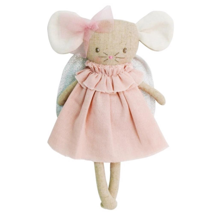 Angel Baby Mouse Pink Silver