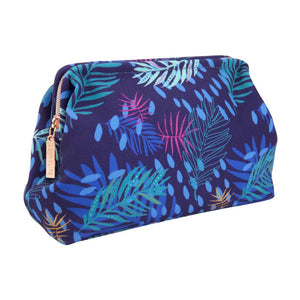 Make Up Pouch Large Electric Bloom