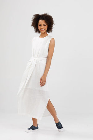 Turning Point Dress - White