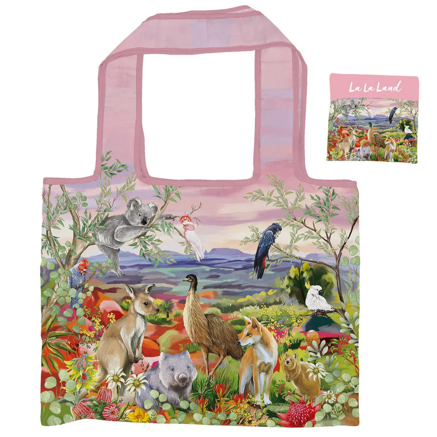 Nature Dwellings Foldable Shopper Bag