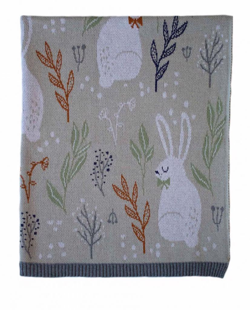 Nature Bunny Blanket