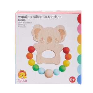 Wood & Silicone Teether  Koala