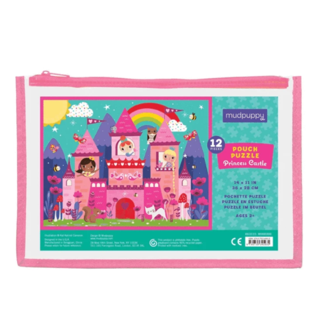 Mudpuppy 12p Puzzle - Princess
