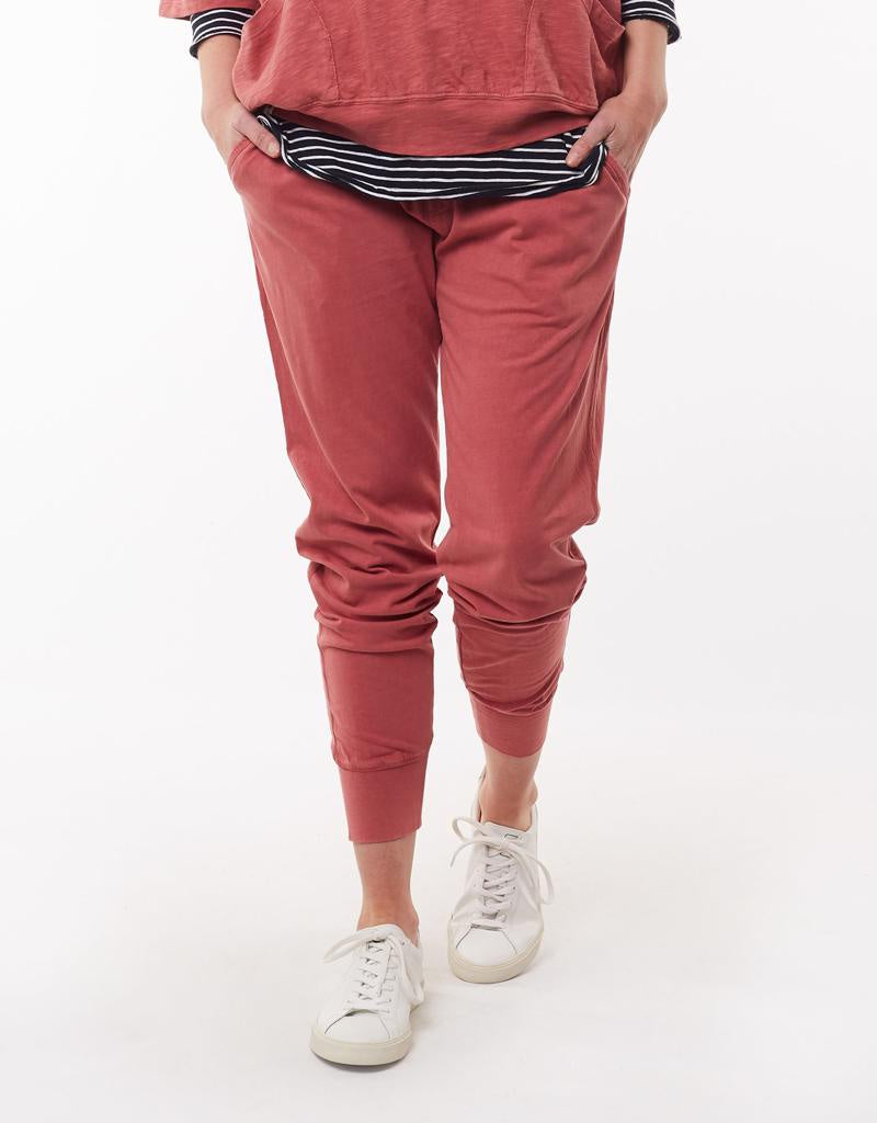 Wash Out Pant Deep Rose