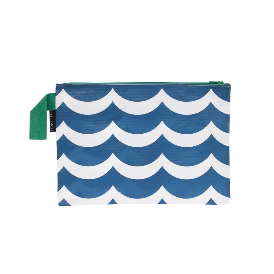Wave Zip Pouch