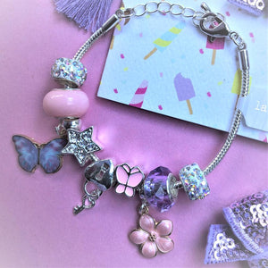 Butterfly Magic Charm Bracelet