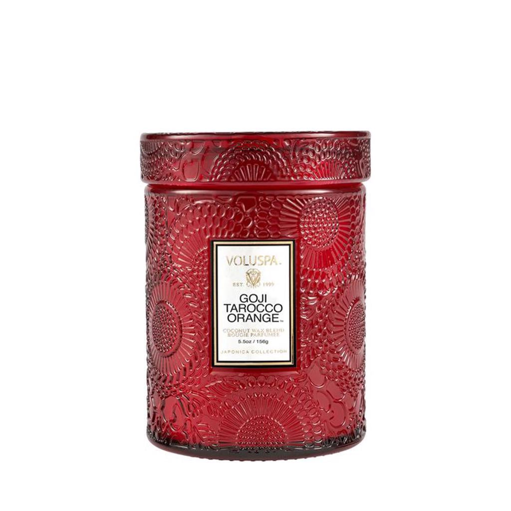 Voluspa Goji & Tarocco 50hr Glass Candle