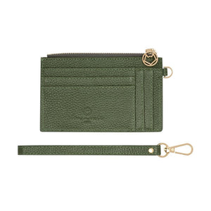 Mighty Mini Wallet Olive Pebble