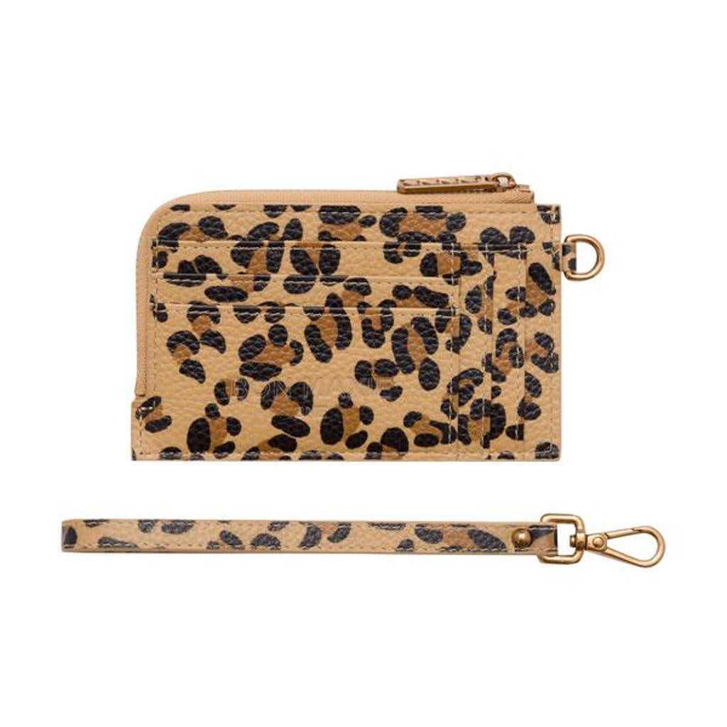 Mighty Mini Wallet 2.0 Leopard/Antique Gold