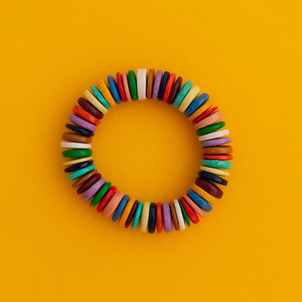 Maasai Coco Striped Bangle