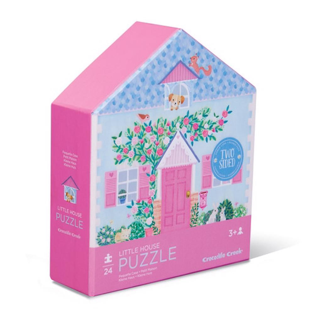24pc Little House 2-Sided Puzzle