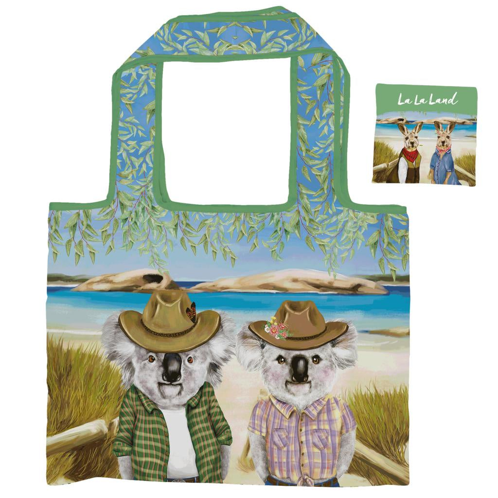 Sunny Outback Foldable Shopper Bag