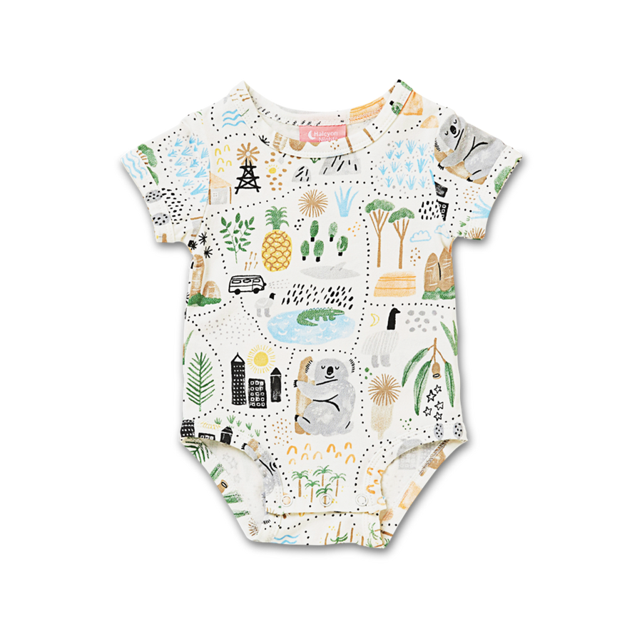 Big Adventures Short Sleeve Bodysuit