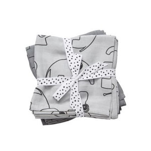 Swaddle 2-Pack Contour - Grey