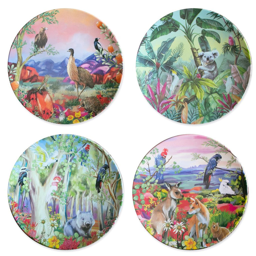 Nature Dwellings Plate Set