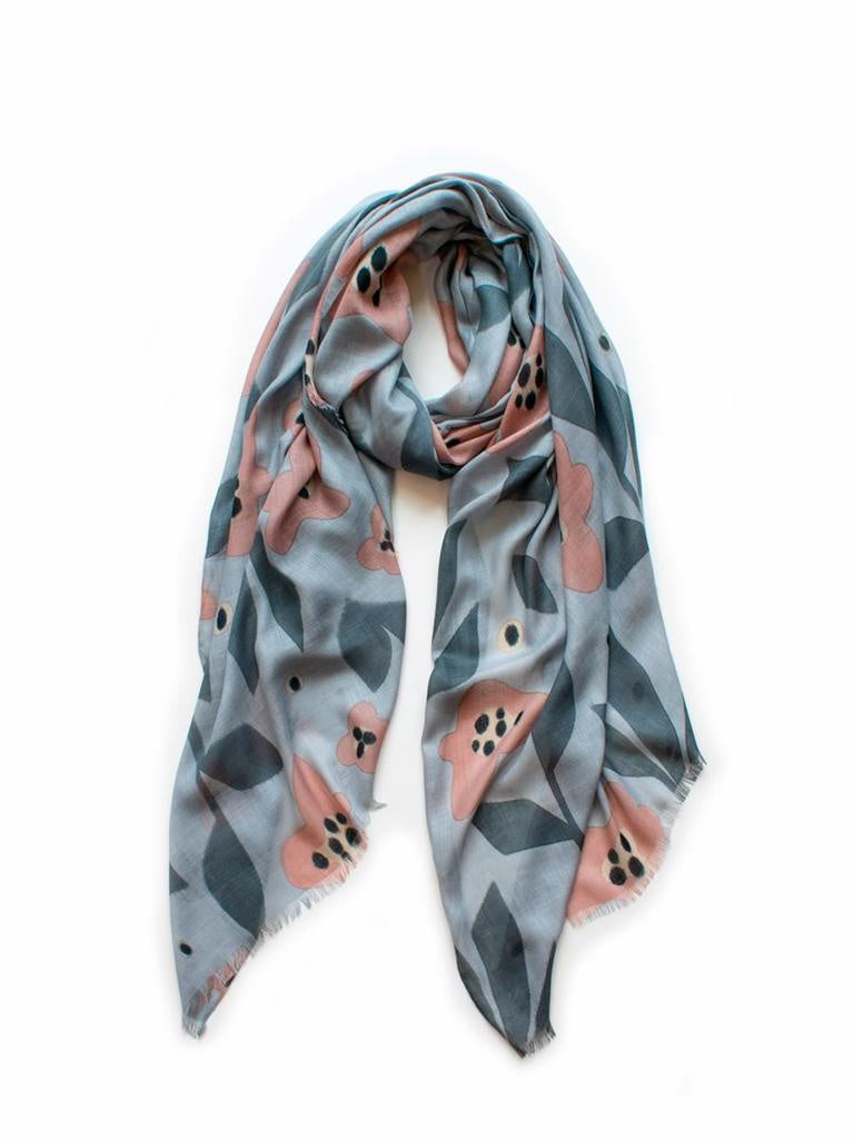 Bloom Scarf Dolphin & Blush