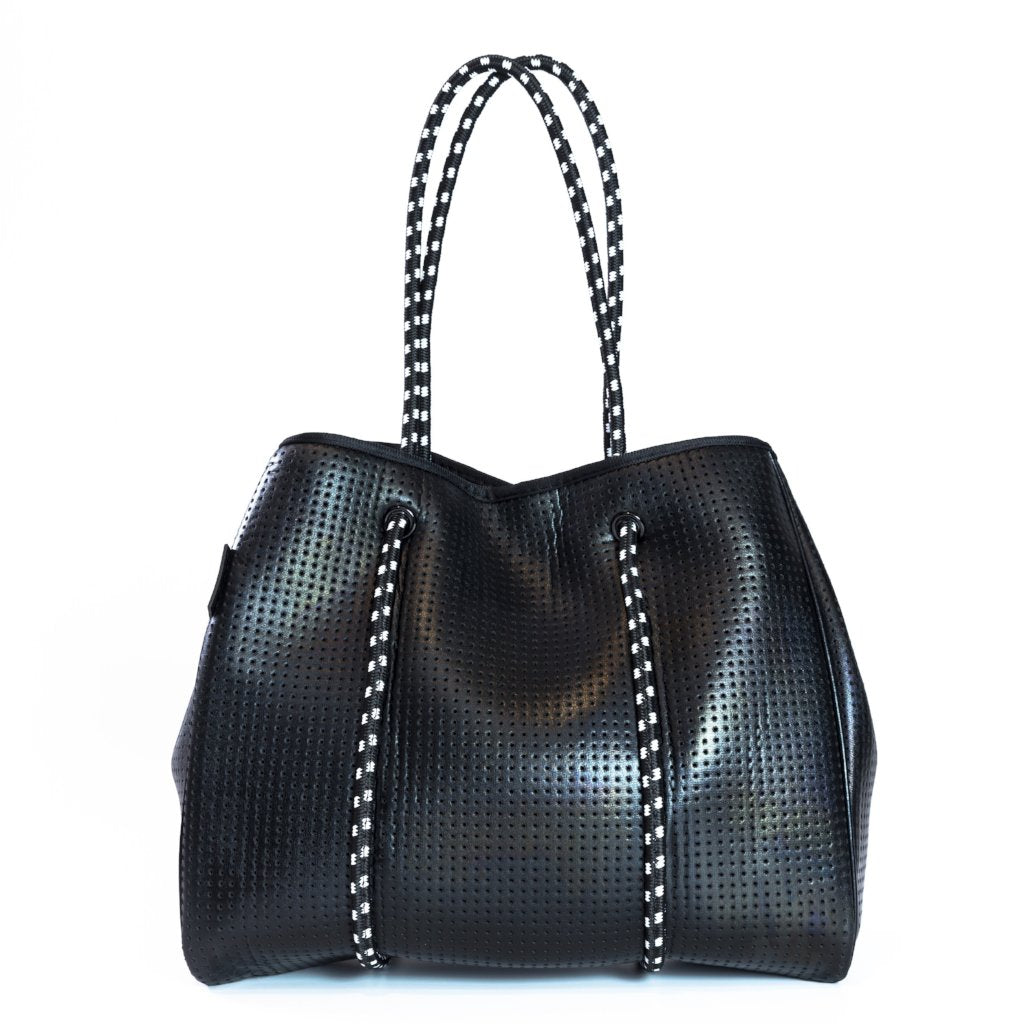 Prene Freddie Bag (Metallic Black)