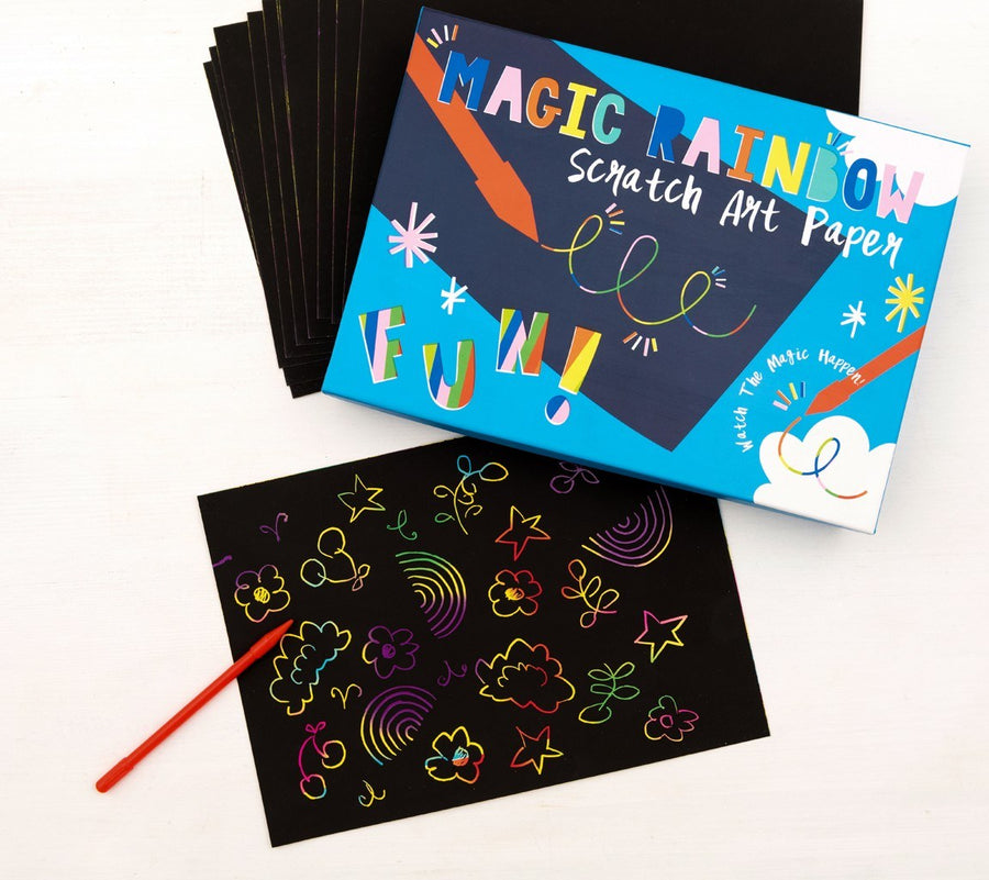 Rainbow Scratch Art Kit