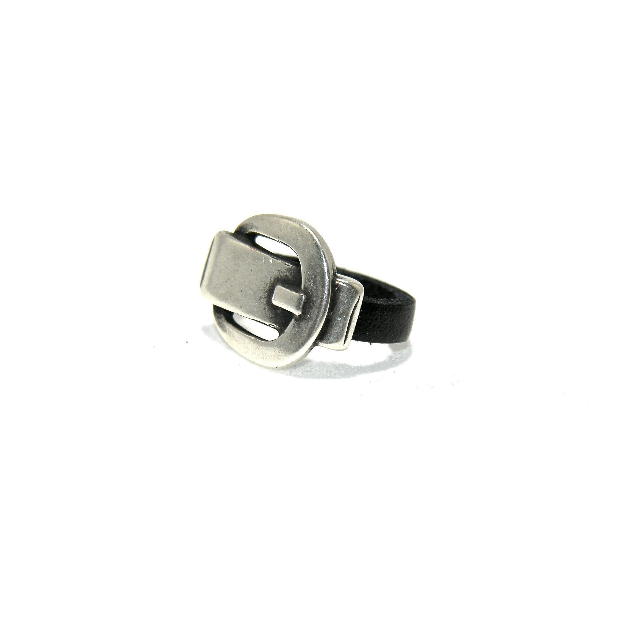 Silver Buckle Ring - SPREE Boutique