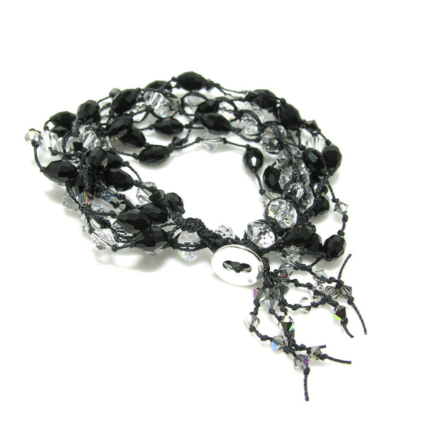 Double Wrap Crystal Bracelet - SPREE