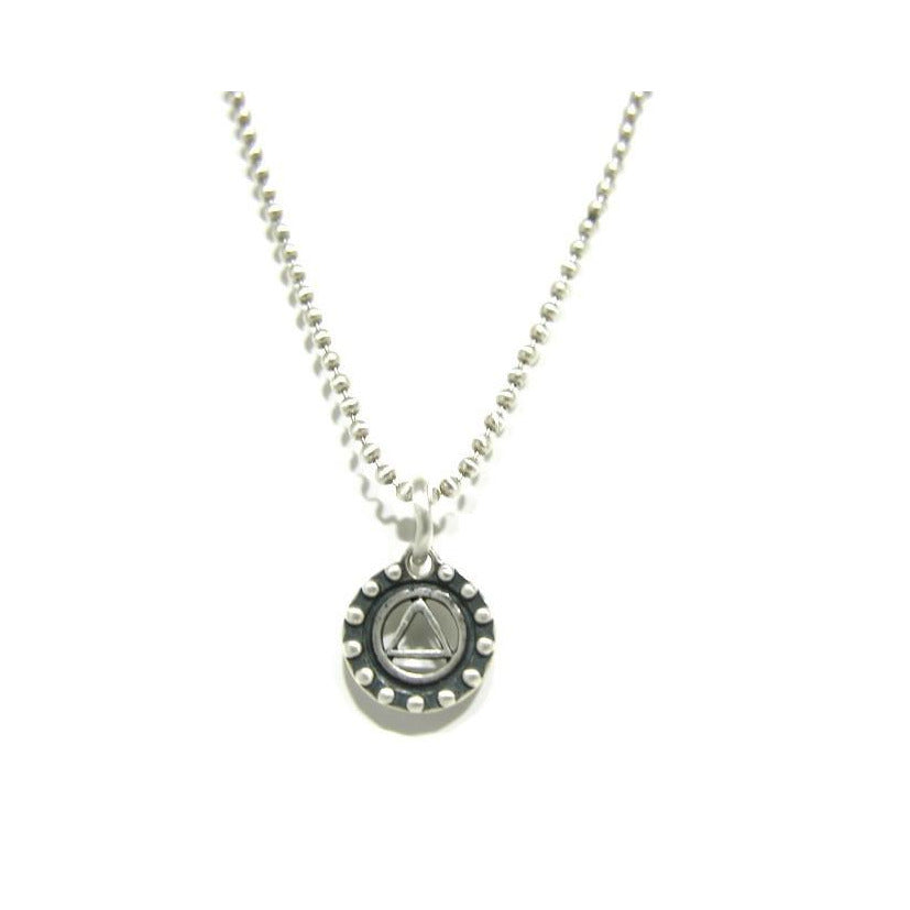 Sterling Silver Recovery Necklace - SPREE