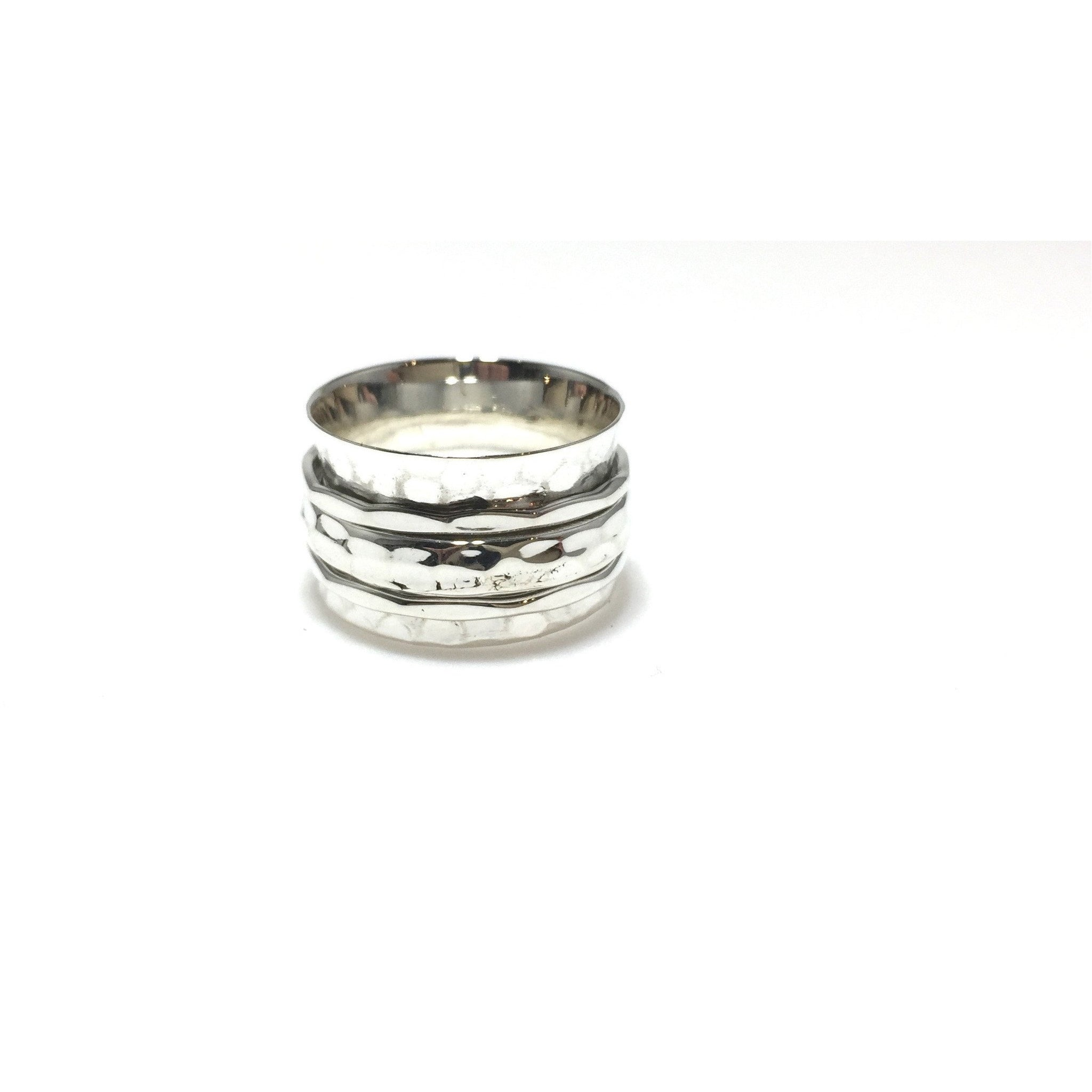 Sterling Silver Meditation/Spinner Ring