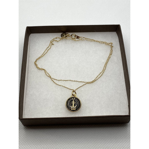 Love You More St. Benedict Necklace