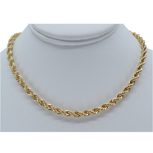 Love You More Gold Rope Chain