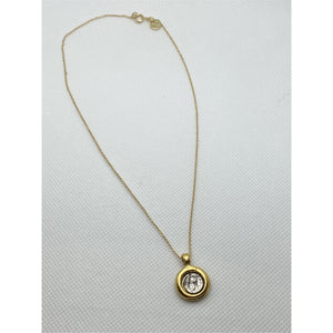 Love You More Juno Mini Coin Necklace