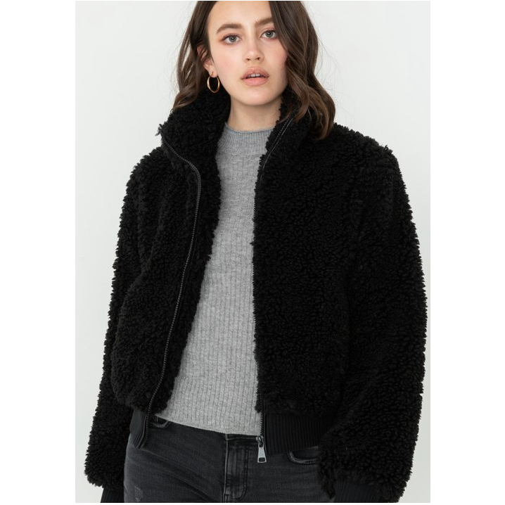 Short Sherpa Jacket