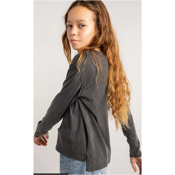 Girls Mina Organic Long Sleeve Top
