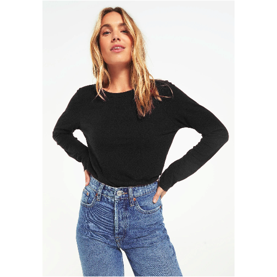 Everyday Brushed Slub Top