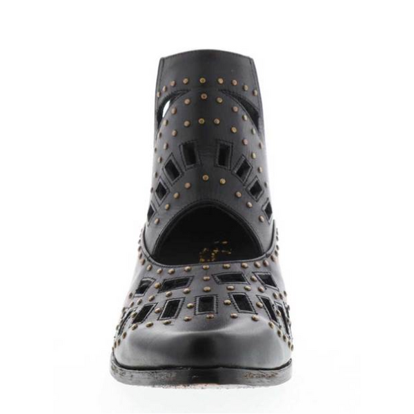 Sbicca Cut Out Studded Ankle Boot - SPREE