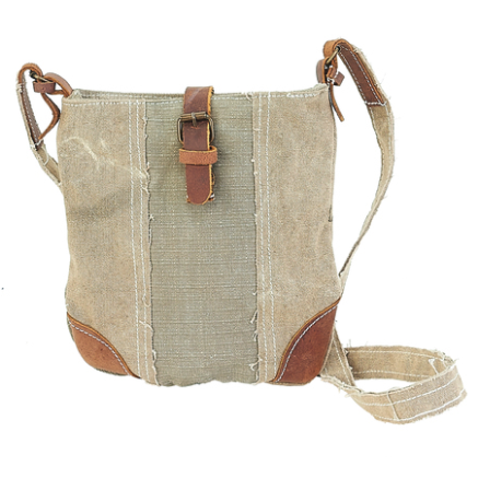 Canvas Small Crossbody Purse - SPREE