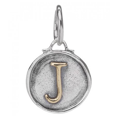 Sterling Silver Letter Charm - SPREE