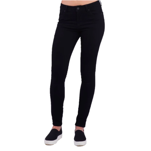 High Rise Skinny Black Jean - SPREE