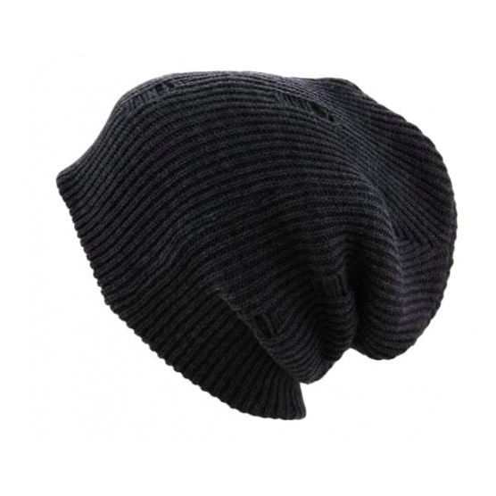 Knit Distressed Vintage Beanie - SPREE