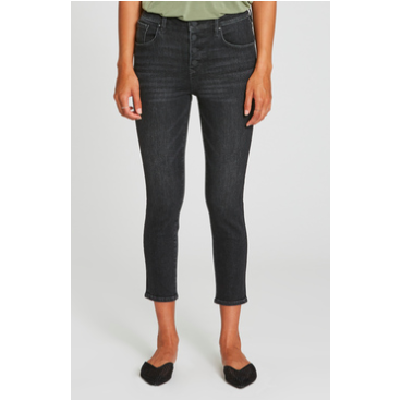 Dear John Skinny Highrise Cropped Jeans - SPREE