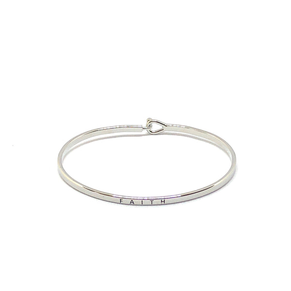 Faith Inspirational Bangle - SPREE