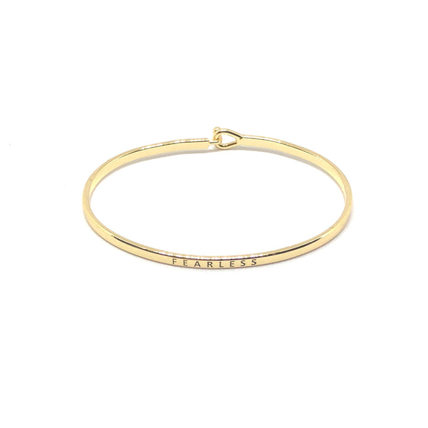 Fearless Inspirational Bangle - SPREE