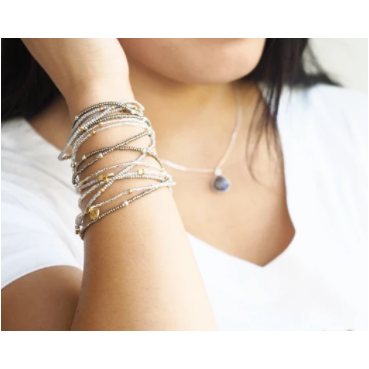 Love You More Wonder Wrap Bracelet