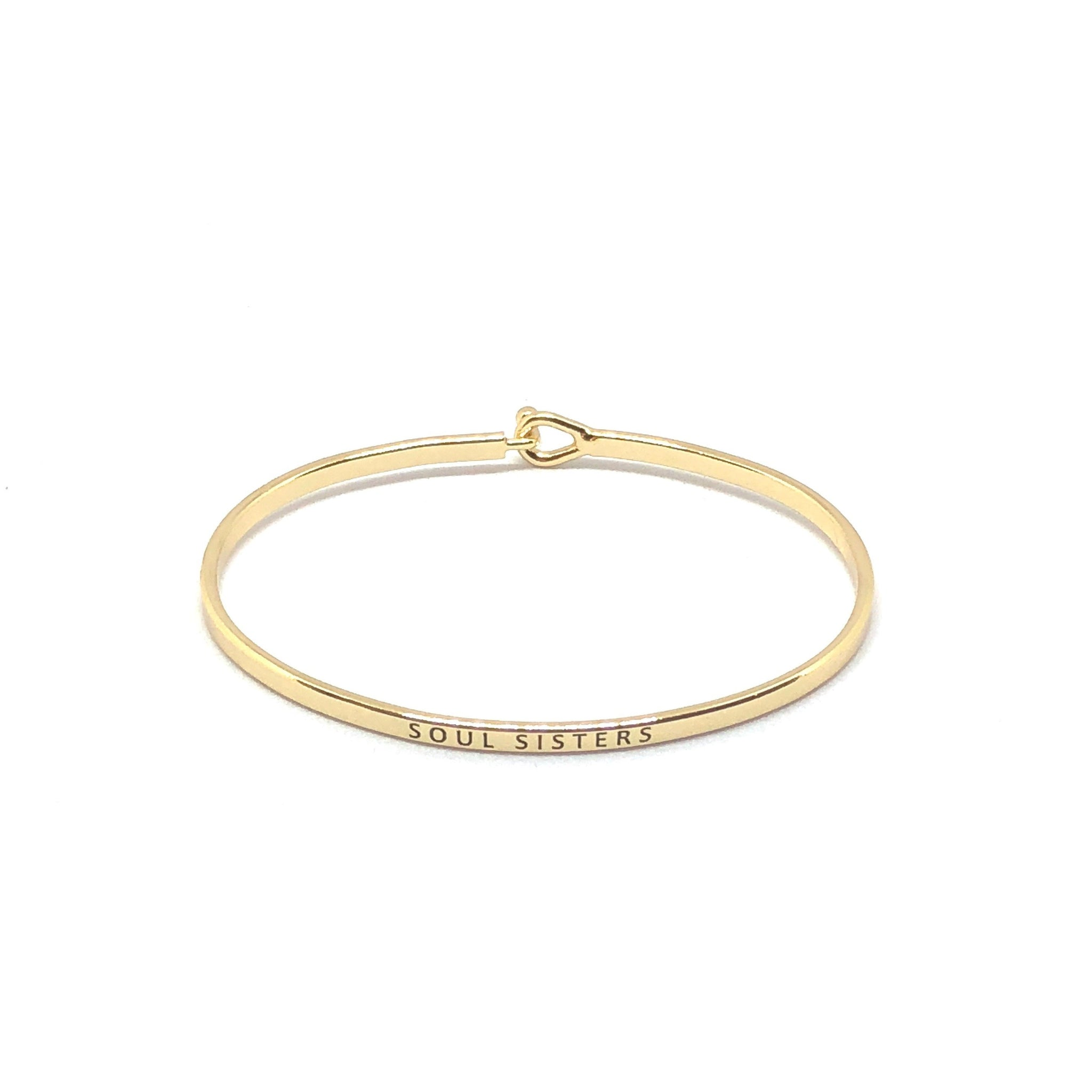 Soul Sisters Inspirational Bangle - SPREE