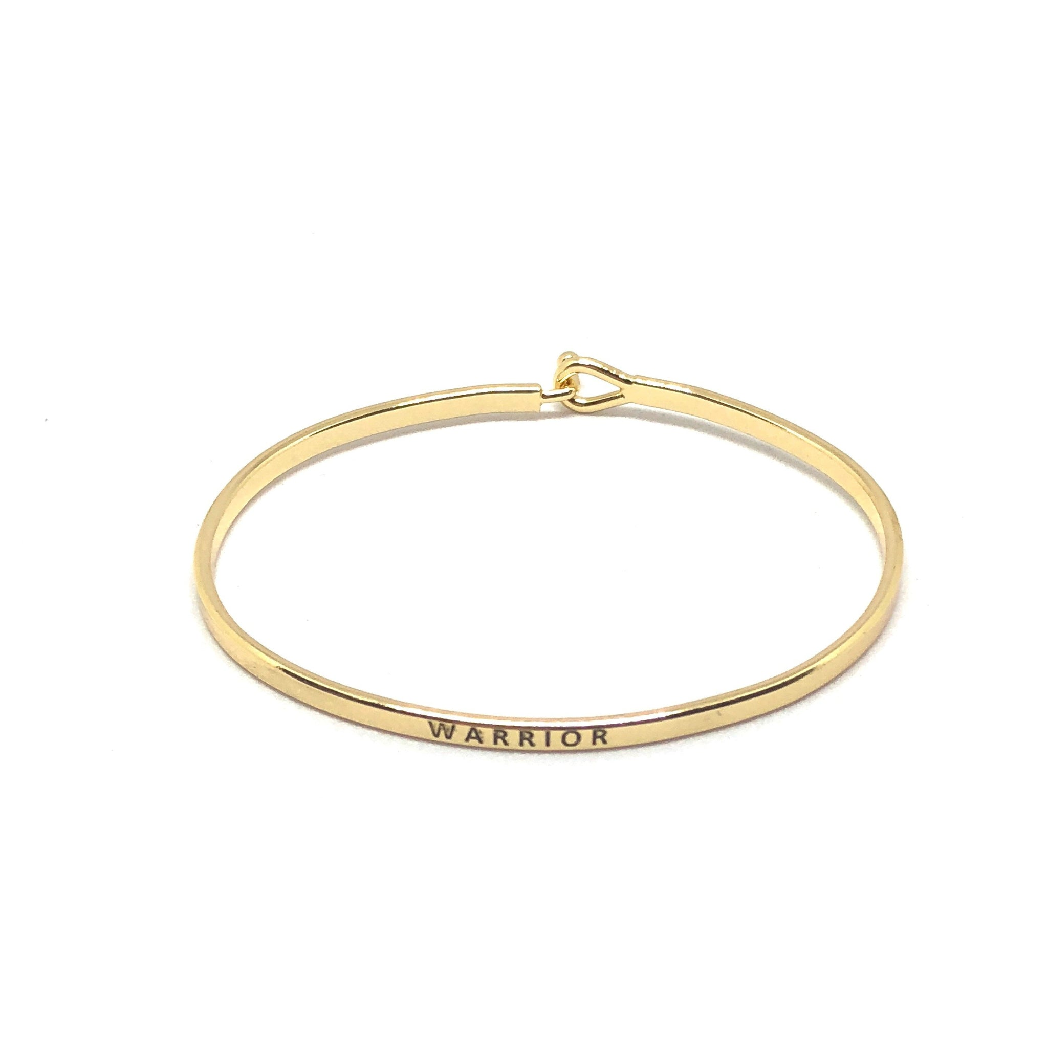Warrior Inspirational Bangle - SPREE