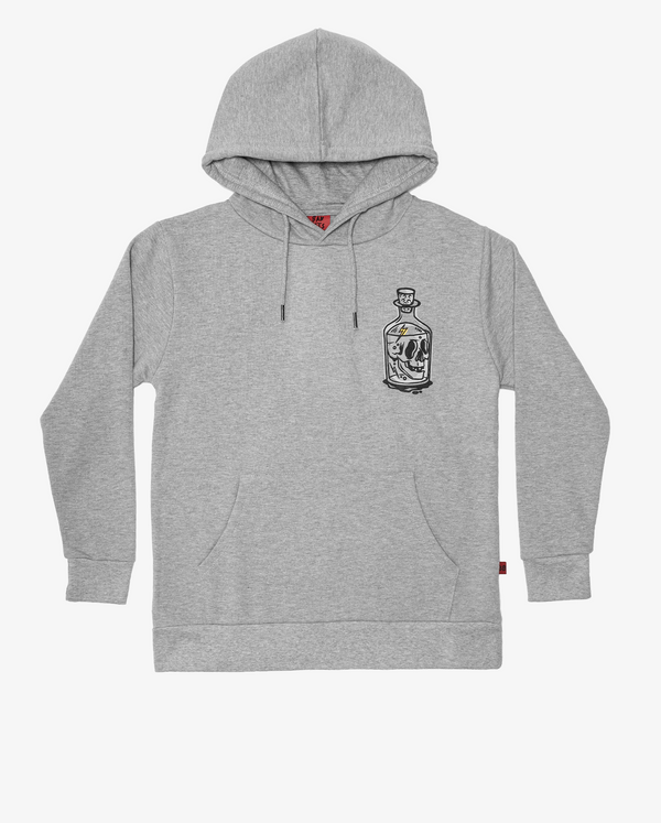 Bandits by Band of Boys Classic Hood Crew Grey Marle