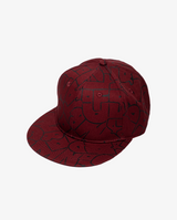 Maroon Band of Boys Bubble Logo Hip Hop Cap