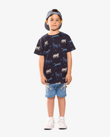 Cat Party straight hem tee