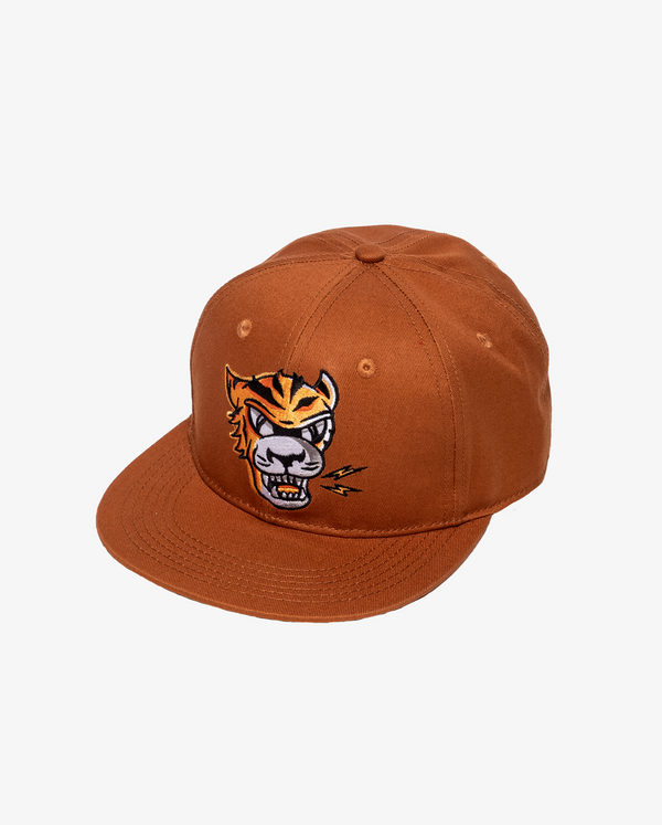 Ochre Band of Boys Eye of The Tiger Hip Hop Cap with velcro closure