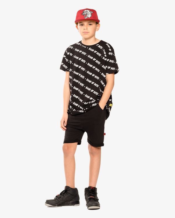 BANDITS | Black Relaxed Shorts