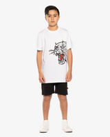 BANDITS | Hear Me Roar straight hem tee